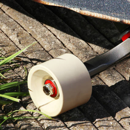 Ivory Pigmented Skateboard Wheel